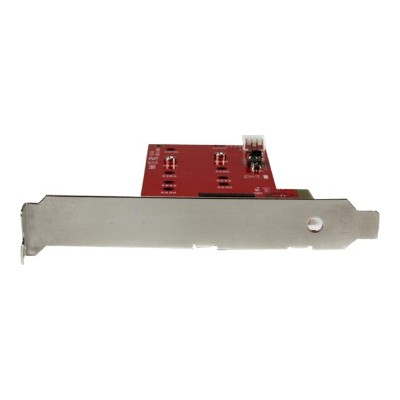 StarTech.com PEX2M2 2x M.2 SSD Controller Card - PCIe - PCI Express M.2 SATA III Controller - NGFF Card Adapter