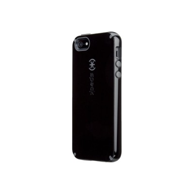 Speck Products 71151-B565 CandyShell iPhone 5/SE - Back cover for cell phone - polycarbonate  engineered soft acrylic - black  slate gray - for Apple iPhone 5