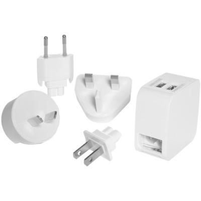Conair Corporation LS7AD Dual USB Charger & Adapter Plug Set