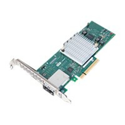 Adaptec 2288100-R HBA 1000 8e - Storage controller - 8 Channel - SATA 6Gb/s / SAS 12Gb/s low profile - 1.2 GBps - PCIe 3.0 x8