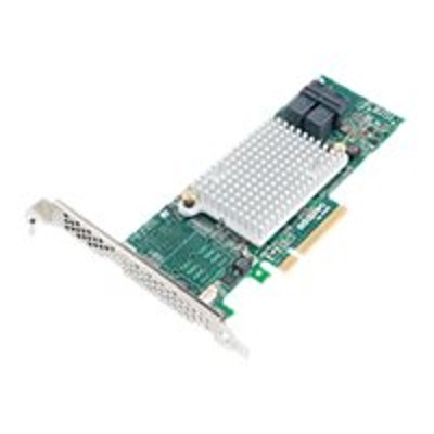 Adaptec 2288300-R HBA 1000 8i - Storage controller - 8 Channel - SATA 6Gb/s / SAS 12Gb/s low profile - 1.2 GBps - PCIe 3.0 x8