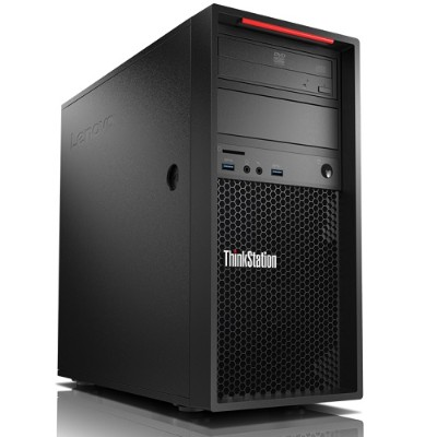 Lenovo 30AT000HUS ThinkStation P310 30AT - Tower - 1 x Xeon E3-1240V5 / 3.5 GHz - RAM 8 GB - HDD 1 TB - DVD-Writer - Quadro K620 / HD Graphics P530 - GigE - Win