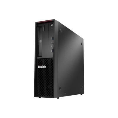 Lenovo 30AV0009US ThinkStation P310 30AV - SFF - 1 x Core i3 6100 / 3.7 GHz - RAM 4 GB - HDD 500 GB - DVD-Writer - HD Graphics 530 - GigE - Win 7 Pro 64-bit (in