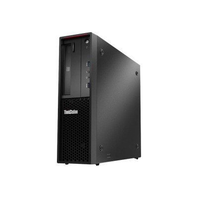 Lenovo 30AV000CUS ThinkStation P310 30AV - SFF - 1 x Core i7 6700 / 3.4 GHz - RAM 8 GB - SSD 256 GB - TCG Opal Encryption - DVD-Writer - HD Graphics 530 - GigE