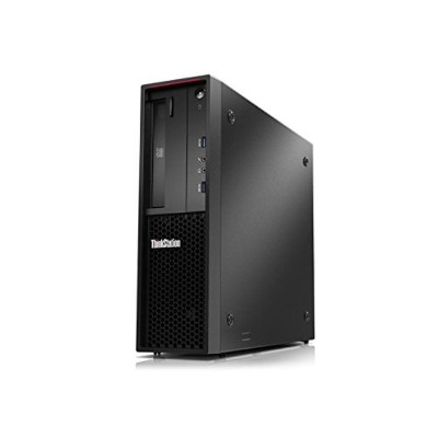 Lenovo 30AV000BUS ThinkStation P310 30AV 3.4GHz Intel Core i7-6700 Small Form Factor - 8GB UDIMM DDR4-2133 Non-ECC  1TB HDD 7.2K 3.5 SATA 6Gbs  HH DVD±RW  Media