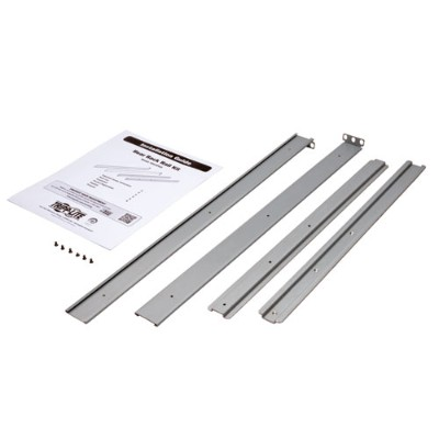 TrippLite PDU4PKIT Rear Support Rail Kit for Select Tripp Lite 1U ATS PDUs Mounted in 4-Post Racks and Rack Enclosures