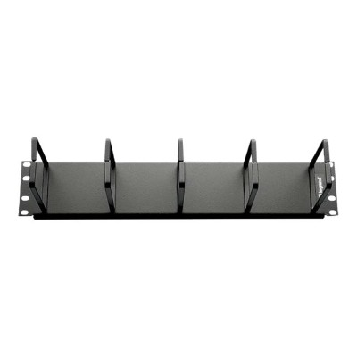 Cables To Go 14594 2U HORIZONTAL CABLE MANAGEMENT PANEL WITH 5 D-RINGS