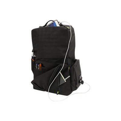 Offer M-Edge Accessories BPK-B4-PO-B Bolt Backpack with Battery – Notebook carrying backpack – 17 – black Before Special Offer Ends