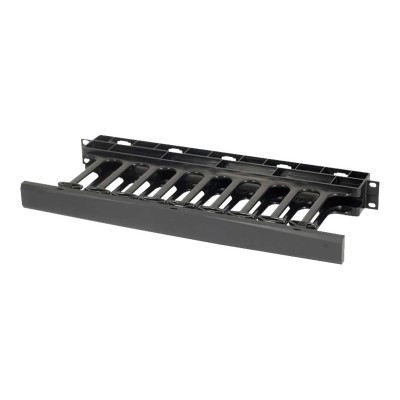 Cables To Go 14596 1U SINGLE-SIDED HORIZONTAL CABLE MANAGEMENT PANEL