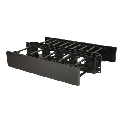 Cables To Go 14598 2U DOUBLE-SIDED HORIZONTAL CABLE MANAGEMENT PANEL