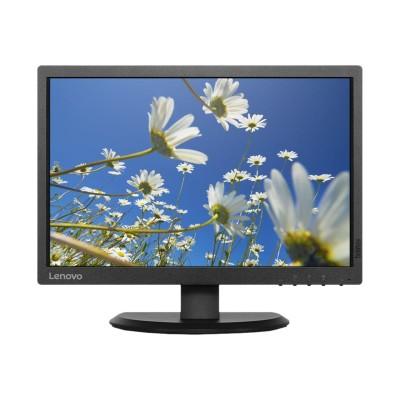 Lenovo 60DFAAR1US 19.5 ThinkVision E2054 LED Backlit LCD Monitor Raven Black