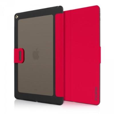 Incipio IPD-286-RED Clarion Shock Absorbing Translucent Folio for iPad Pro - Red