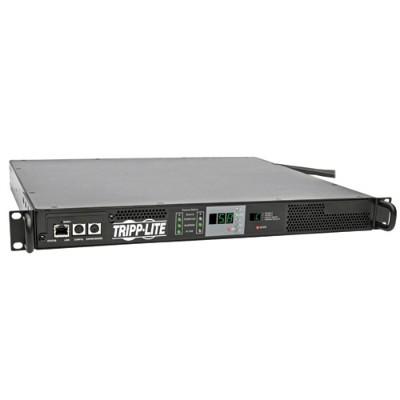 TrippLite PDUMNH30HVAT PDU Monitored ATS Horizontal 5.8kW 208/240V 30A (L6-30R) 2 L6-30P 1URM