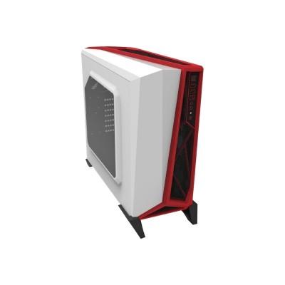 Corsair Memory CC-9011083-WW Carbide Series SPEC-ALPHA - Mid tower - ATX - no power supply - white  red - USB/Audio