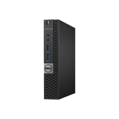 Dell 7R7H1 OptiPlex 3040 - Micro - 1 x Core i5 6500T / 2.5 GHz - RAM 8 GB - HDD 500 GB - HD Graphics 530 - GigE - WLAN : 802.11a/b/g/n/ac  Bluetooth 4.1 - Win 7