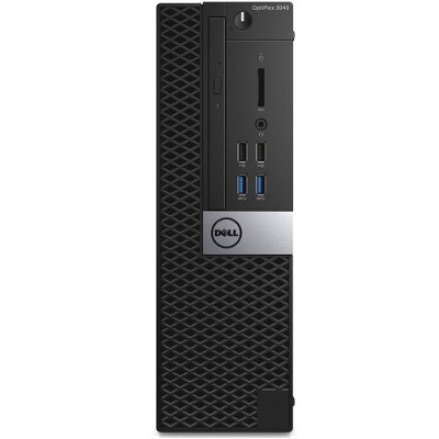 Dell V30MM OptiPlex 3040 - SFF - 1 x Core i3 6100 / 3.7 GHz - RAM 4 GB - HDD 500 GB - DVD - HD Graphics 530 - GigE - Win 7 Pro 64-bit (includes Win 10 Pro 64-bi