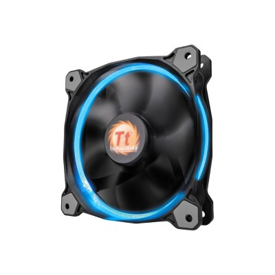 ThermalTake CL-F043-PL14SW-B Riing 14 LED RGB 256 Colors - Case fan - 140 mm (pack of 3)
