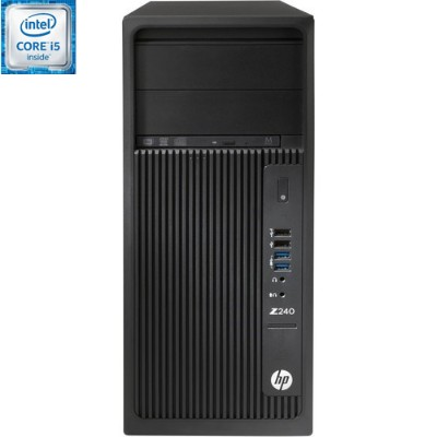 HP Inc. L9K18UT#ABA Smart Buy Z240 Intel Core i5-6500 Quad-Core 3.20GHz Tower Workstation - 4GB RAM  1TB HDD  SuperMulti DVD  Gigabit Ethernet