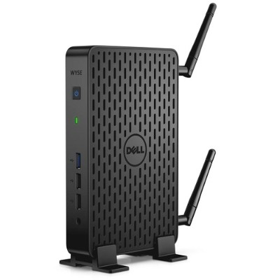 Dell Wyse D57GX Wyse 3030 - Thin client - DTS - 1 x Celeron N2807 / 1.58 GHz - RAM 4 GB - flash 16 GB - HD Graphics - GigE - Win Embedded Standard 7 - monitor: