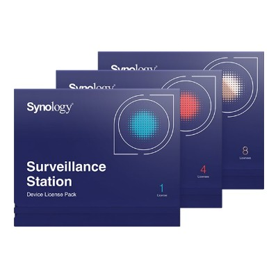 Synology CLP8 Surveillance Device License Pack - License - 8 cameras