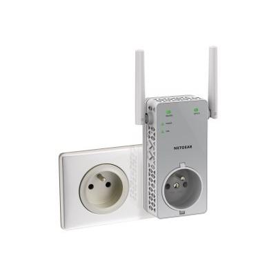 NetGear EX3800-100NAS AC750 WiFi Range Extender EX3800 - Wi-Fi range extender - 802.11a/b/g/n/ac - Dual Band