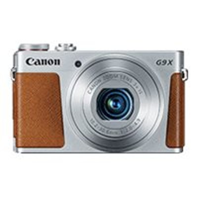 Canon 0924C001 PowerShot G9 X - Digital camera - High Definition - 59.94 fps - compact - 20.2 MP - 3 x optical zoom - Wi-Fi NFC - silver