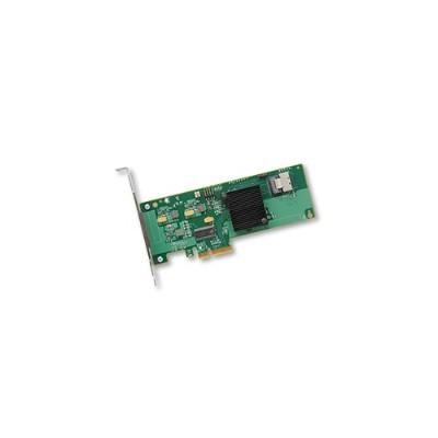 LSI Logic H5-25211-01 Avago SAS 9211-4i - Storage controller (RAID) - 4 Channel - SATA 6Gb/s / SAS low profile - 600 MBps - RAID 0  1  10  1E - PCIe 2.0 x4