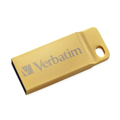 Verbatim 99105 32GB Metal Executive USB 3.0 Flash Drive – Gold