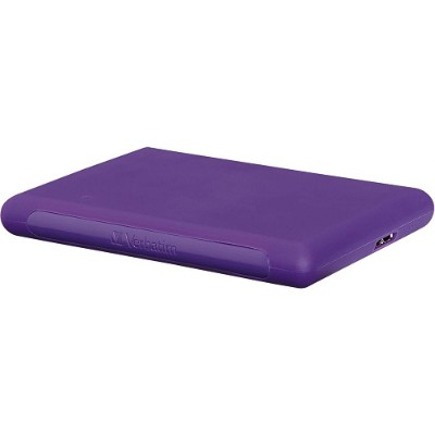 Verbatim 99023 1TB Titan XS Portable Hard Drive  USB 3.0 - Purple