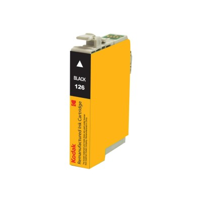 eReplacements T126120-KD Kodak - High Yield - black - remanufactured - ink cartridge (equivalent to: Epson 126) - for Epson Stylus NX330  NX430  WorkForce 435