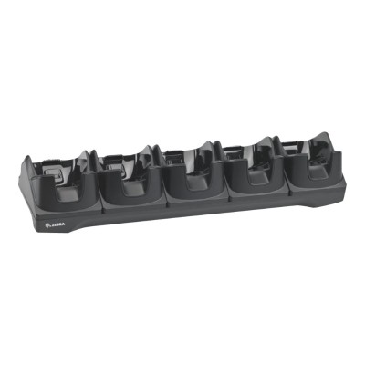 Zebra Tech CRD-TC8X-5SCHG-01 5Slot Charge Only Cradle - Handheld charging stand - output connectors: 5 - for Motorola TC8000  TC8000 Premium  TC8000 Standard