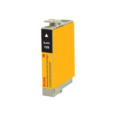 eReplacements T125120-KD Kodak - High Yield - black - remanufactured - ink cartridge (equivalent to: Epson T125120) - for Epson Stylus NX230 Small-in-One  NX420