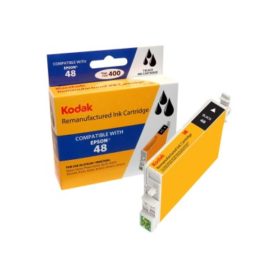 eReplacements T048120-KD Kodak - High Yield - black - remanufactured - ink cartridge (equivalent to: Epson T0481) - for Epson Stylus DX3800  Stylus Photo R200