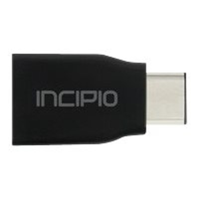 Incipio PW-249-BLK USB adapter - USB Type C (M) to USB (F) - USB 3.0 - black