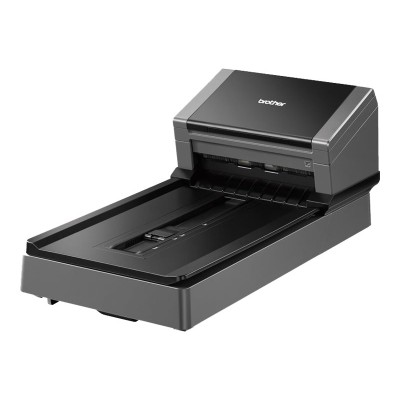 Brother PDS5000F Color Duplex Document Scanner with Flatbed for High Scan Volume Environments