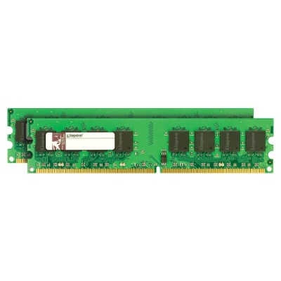 Kingston KVR21N15D8K2/32 ValueRAM - DDR4 - 32 GB: 2 x 16 GB - DIMM 288-pin - 2133 MHz / PC4-17000 - CL15 - 1.2 V - unbuffered - non-ECC