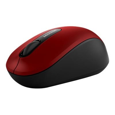 Microsoft PN7 00011 Bluetooth Mobile Mouse 3600 Mouse optical 4 buttons wireless Bluetooth 4.0 dark red