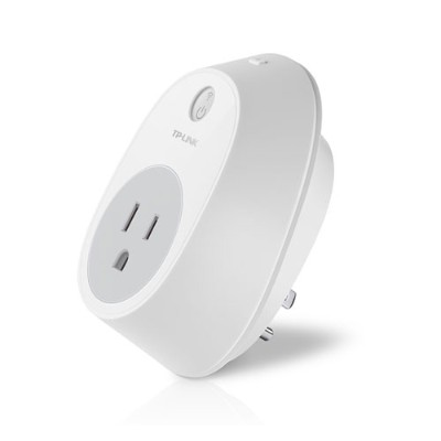 TP-Link HS100 Smart Plug  Wi-Fi Enabled  Turn On/Off Your Electronics From Anywhere - iPhone/iPad Remote Control For Your Electrical Devices