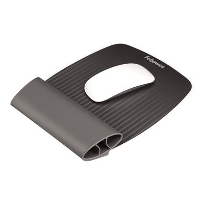 Fellowes 9472901 I-Spire Series Wrist Rocker - Mouse pad with wrist pillow - gray  black