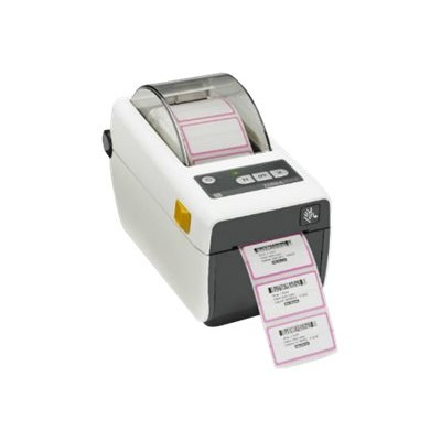 Zebra Tech ZD41H22-D01W01EZ ZD410 - Healthcare - label printer - thermal paper - Roll (2.35 in) - 203 dpi - up to 359.1 inch/min - USB 2.0  USB host  Wi-Fi(ac)