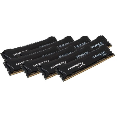 Kingston HX428C14SB2K8/64 HyperX Savage Memory Black - 64GB Kit* (8x8GB) - DDR4 2800MHz Intel XMP