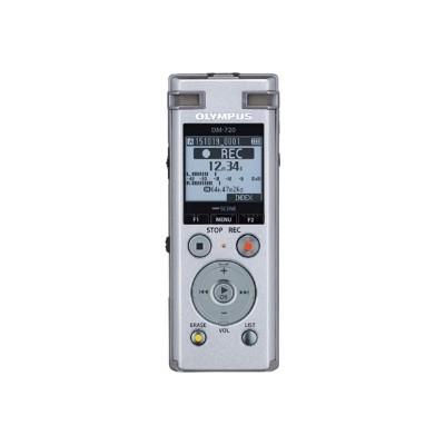 Olympus V414111SU000 DM-720 - Voice recorder - 4 GB