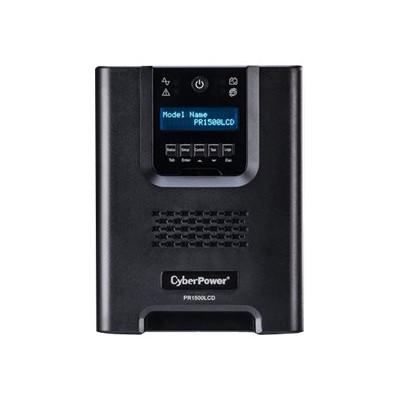 Cyberpower PR1500LCDN Smart App Sinewave PR1500LCDN - UPS - AC 120 V - 1050 Watt - 1500 VA 17 Ah - Ethernet 10/100  RS-232  USB - output connectors: 8
