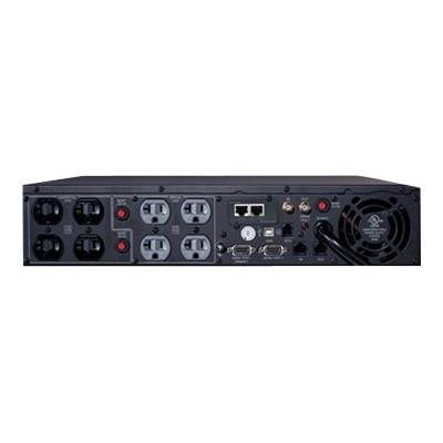 Cyberpower PR2200LCDRT2UN Smart App Sinewave PR2200LCDRT2UN - UPS (rack-mountable / external) - AC 120 V - 1980 Watt - 2150 VA 9 Ah - Ethernet 10/100  RS-232  U
