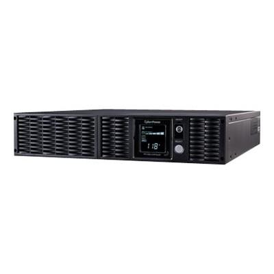 Cyberpower PR1500LCDRTXL2UN Smart App Sinewave PR1500LCDRTXL2UN - UPS (rack-mountable / external) - AC 120 V - 1500 Watt - 1500 VA 9 Ah - Ethernet 10/100  RS-23