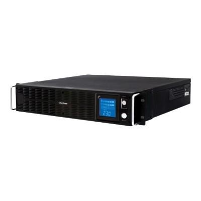Cyberpower PR1500ELCDRTXL2U Professional Rack Mount LCD Series PR1500ELCDRTXL2U - UPS (rack-mountable) - 1.125 kW - 1500 VA 9 Ah - RS-232  USB - output connecto