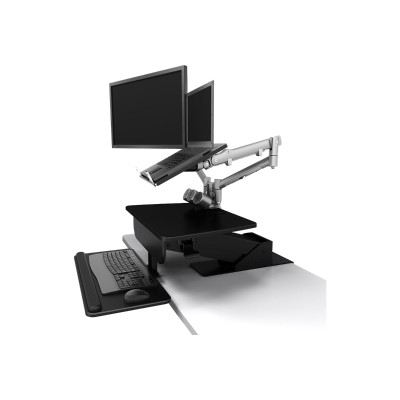 Atdec A-STSCB A-STSCB - Mounting kit (desk clamp mount) for monitor / keyboard - plastic  steel - black - clamp mountable - for P/N: A-STSFB  A-STSWW