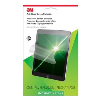 3M Corp AFTAP002 Anti-Glare Screen Protector for Apple iPad mini 1/2/3/4