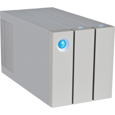 LaCie STEY8000100 8TB 2big Thunderbolt 2 Hard Drive Array - 2 Bays - 2 x HDD 3 TB - USB 3.0  Thunderbolt 2 (External)