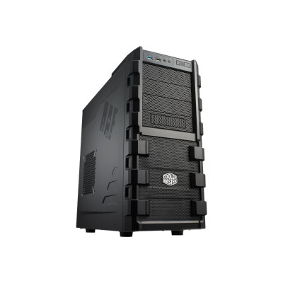 Cooler Master RC-912-KKN1-GP HAF 912 - Mid tower - ATX - no power supply (EPS12V/ PS/2) - black - USB/Audio
